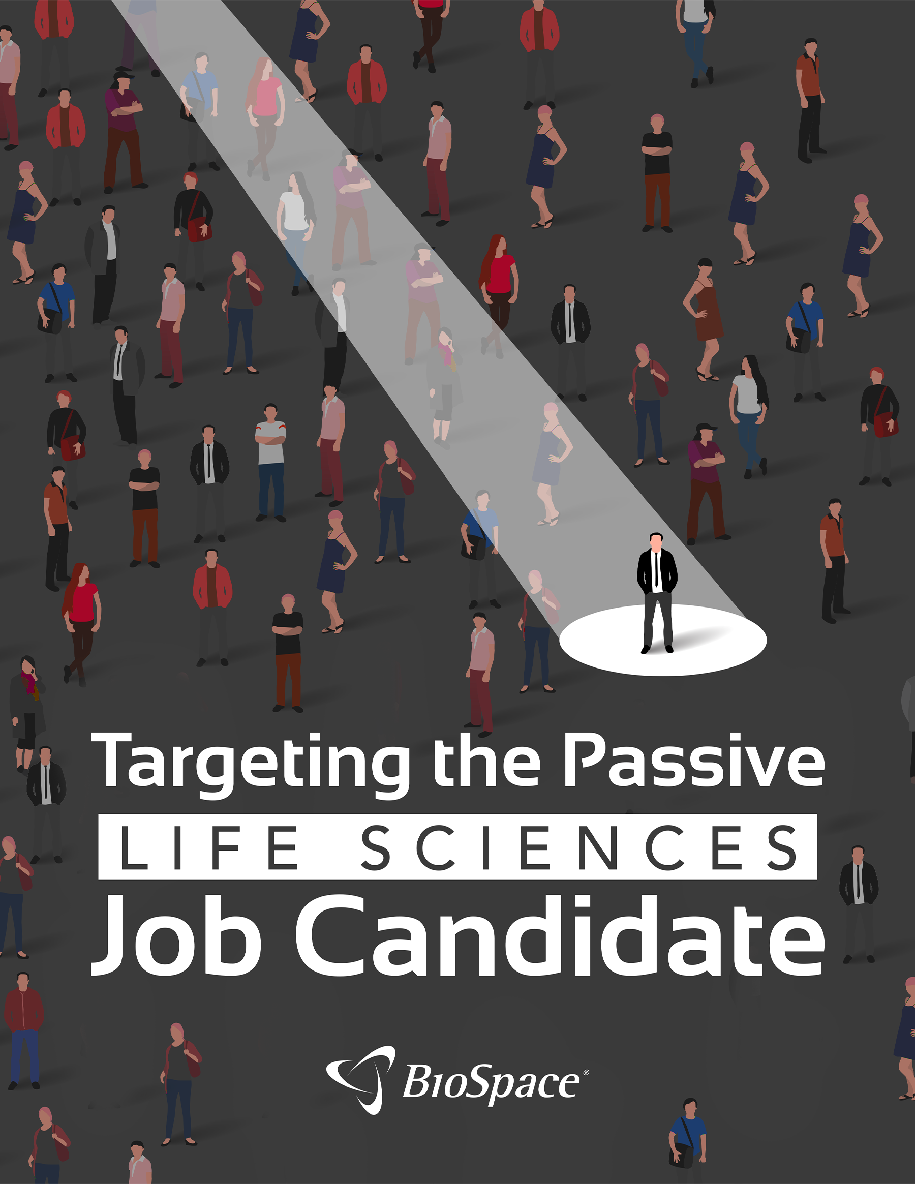 Employer Insights - Cover Artwork - Targeting The Passive Life Sciences Job Candidate Whitepaper